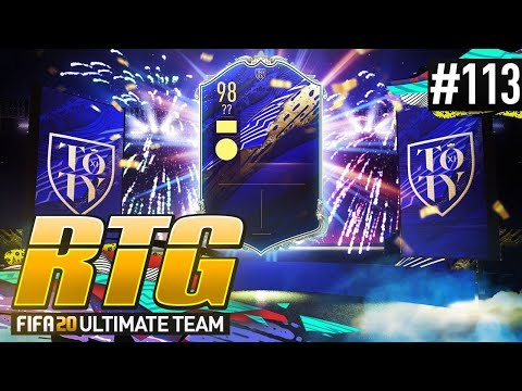 I PACKED AN INSANE TEAM OF THE YEAR! - #FIFA20 Road to Glory! #113 Ultimate Team