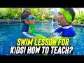 Teach your Child to float and be water safe relaxed in 1 lesson