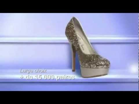 femme chaussures site de vente en ligne de chaussures pour femme youtube. Black Bedroom Furniture Sets. Home Design Ideas