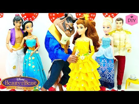 Disney Beauty and the Beast DIY Costumes Play Doh video