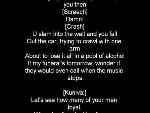 Eminem- When the music stops with lyrics