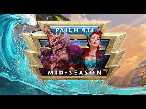 SMITE Patch Notes VOD - Mid-Season (Patch 4.13)