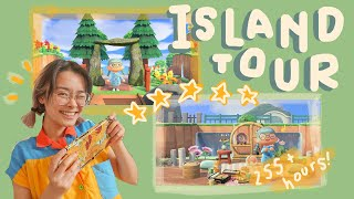 my five-star island tour // animal crossing: new horizons