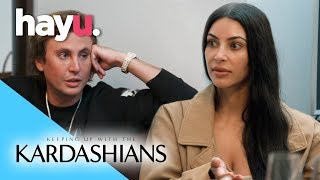 Kim Defends Kayne's TMZ Rant | Season 15 | Keeping Up With The Kardahsians