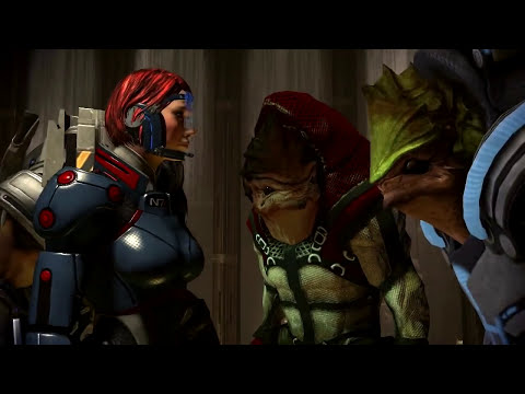 Liara T'Soni - I'm One-Quarter Krogan