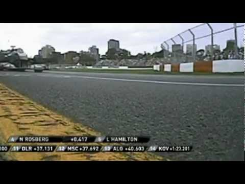 Formula 1. The Many Overtakes of Lewis Hamilton Part 1