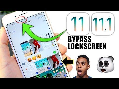 Unlock iPhone Without Passcode get Access to Photos & More iOS 11 - 11.1 LockScreen bypass