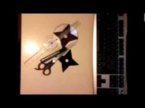 Como Hacer una Shuriken de Disco