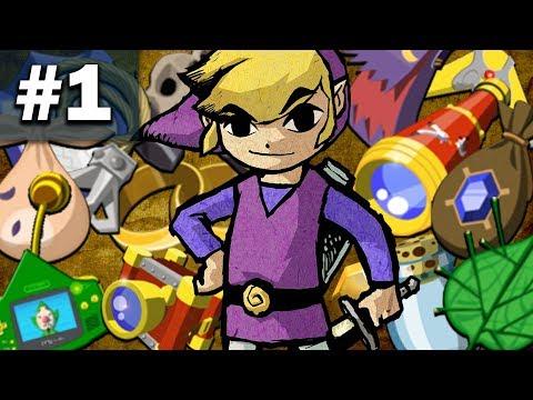 Zelda: Wind Waker Randomizer - Part 1 (ZWWR)