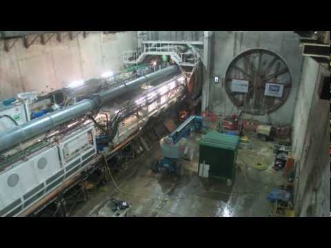 Crossrail TBM Sophia Launched