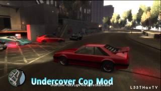 Chr0m3 x MoDz Script Mods - Explosive Pistol & Undercover Cop Mod - GTA IV (Xbox 360)