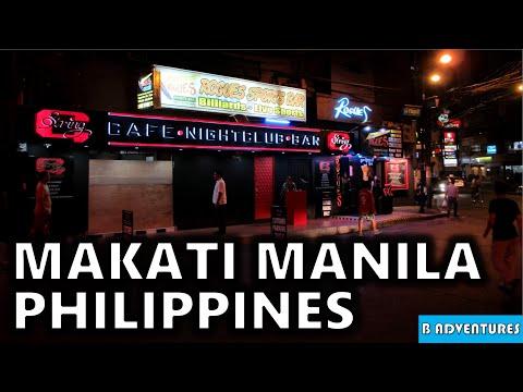 Travel Philippines, S1, Ep 19/26, Back to Makati Manila, Street Tour & Nightlife