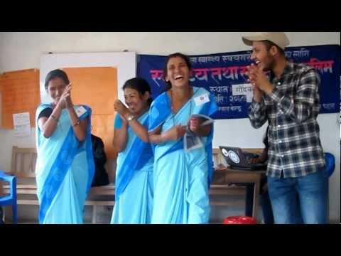 Action For Health (a4h) Fchv Trainings In Godak Vdc, Ilam, Nepal (feb, 2013) video