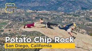 Potato Chip Rock hike up Mount Woodson