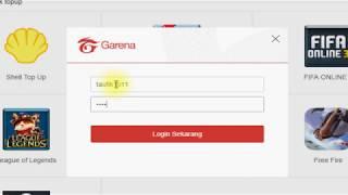 isi cash PB Garena Indonesia