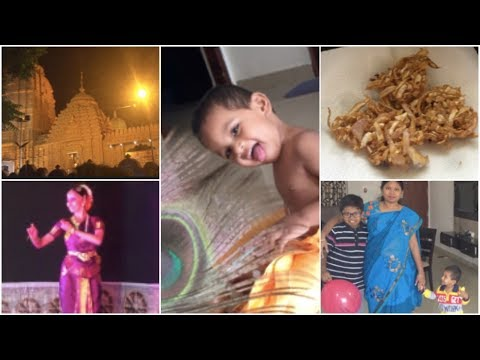 Janmashtami Celebrations || A Day In My Life  ||  visiting JAGANNATH TEMPLE || sireesha