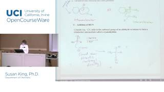 Chem 51C. Organic Chemistry. Lec. 08: Addition of Water, Alcohol & Cyanide