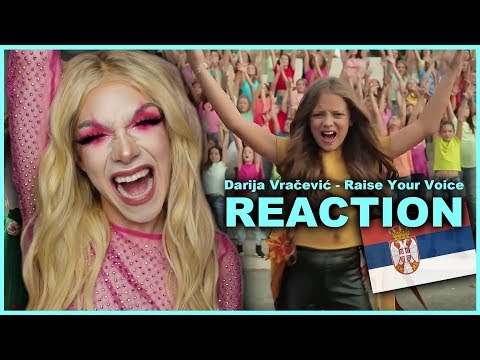 SERBIA - Darija Vračević - Raise Your Voice | Junior Eurovision 2019 REACTION