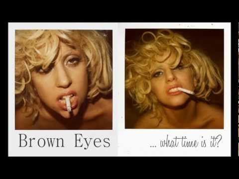 Lady Gaga - Brown Eyes (español - English) video