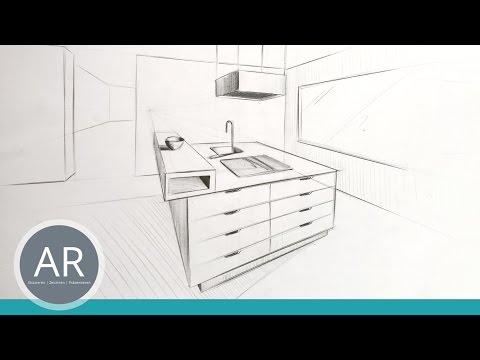 perspektivisches zeichnen perspektive zeichnen lernen r ume zeichnen m bel zeichnen. Black Bedroom Furniture Sets. Home Design Ideas
