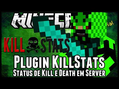 [Tutorial]killStats - Status de Kill e Death em Server Minecraft