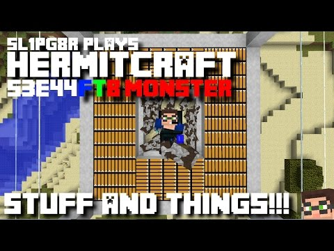 Minecraft Ftb Monster - Stuff And Things!!! ( Modded Minecraft Hermitcraft S3e44 ) video