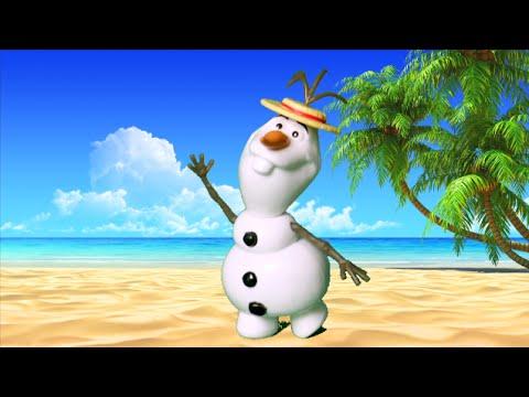 Frozen Summer Singing Olaf from Mattel