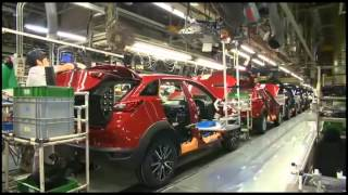 Mazda First Ever CX 3 production line in Japan