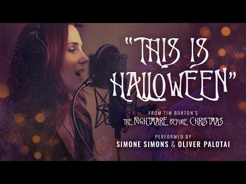 This is Halloween Cover by Oliver Palotai & Simone Simons