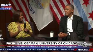 WOW: Panelist Tells President Obama First Time She Met Him HE SAID NO to Her Photo Request (FNN)