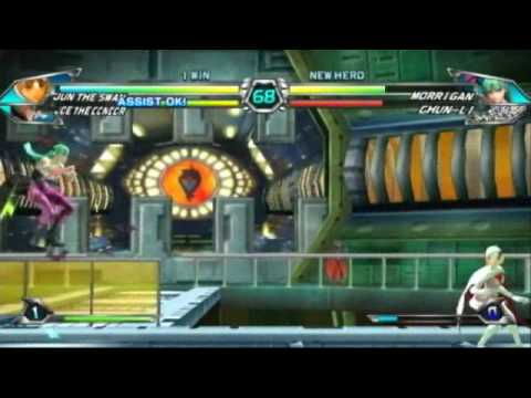 Tatsunoko vs. Capcom: Ultimate All Stars - Wii Gameplay