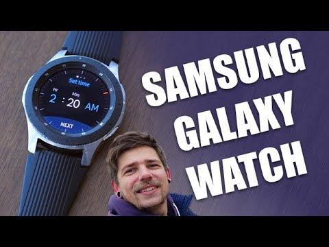 Samsung Galaxy Watch - первый взгляд на смарт-часы!