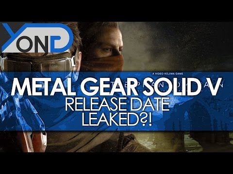 Metal Gear Solid V - Phantom Pain Release Date Leaked?