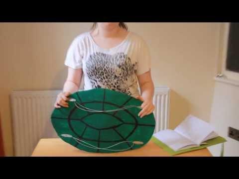 How to Make a Ninja Turtle Shell How to Make a Turtle Shell