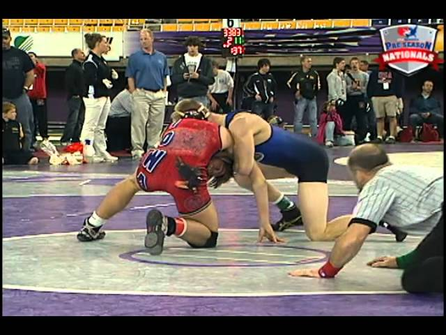 Preseason Nationals 138 - Grant LaMont (Champions WC) vs. Logan Mulnix (Cedar Hawk WC)