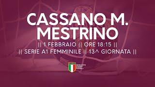 Serie A1F [13^]: Cassano Magnago - Mestrino 32-23