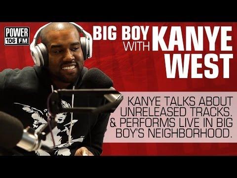 Kanye West: Unreleased Tracks - Performs Live in Studio
