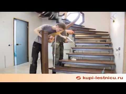 Лестница на второй этаж за 2 минуты