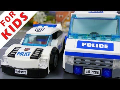 Lego Police chase stop-motion brickfilm lego 2017