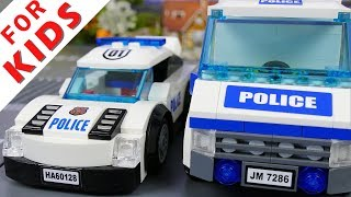 Lego Police chase stop-motion brickfilm lego 2017