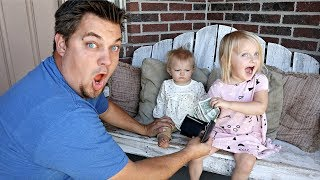 GIRLS Control DAD'S Day!