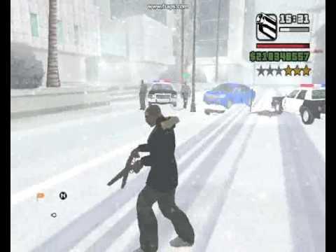 GTA SA SNOW MOD