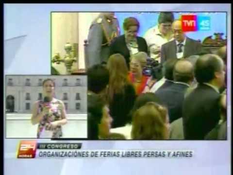 Presidenta Bachelet en Tercer Congreso Nacional TVN