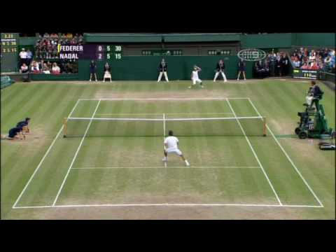 Roger Federer Doing What He Does Best Video