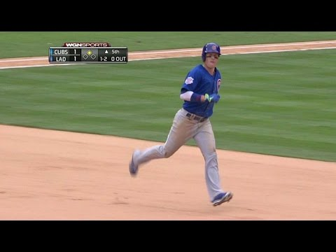 CHC@LAD: Coghlan smacks a two-run shot for the lead