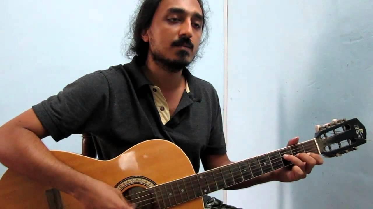 aayiram kannumai - malayalam unplugged - nokketha doorathu - vocal guitar chords - YouTube