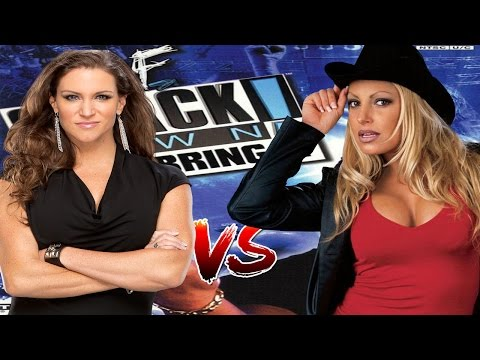 WWF JBI Stephanie Mcmahon vs Trish Stratus thumbnail