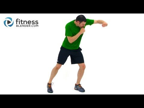 Cardio Kickboxing Workout - Full Length Kickboxing Workout Video by Fitness Blender Image 1
