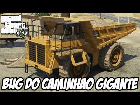 GTA V - O Bug do Caminhão GIGANTE