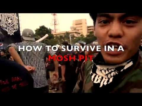 How to Survive in a Mosh Pit